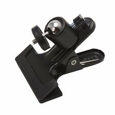 """NEW Photography Metal Clip Clamp 1/4"""" Screw Holder Mount With Standard Ball Head"""