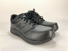 New Balance 928v2 Men's 11.5 6E XX-WIDE Black Leather Lace Walking Oxford Shoe