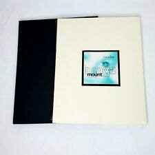 """Crescent Image Mount Mat Boards 11""""x14"""" Black White Mixed Lot 20+ Sheets"""