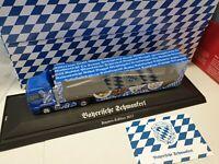 MAN TGS  BAYERN-LKW / Bayerische Schmankerl  GABEL-- Kennzeichen  Ansbach 930765