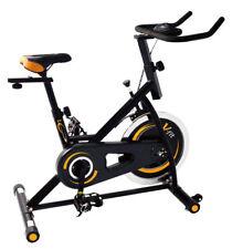 V-Fit ATC16/1 Aerobic Training Cycle-Textured Black/Orange