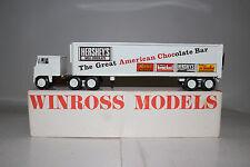 1980's Winross Die Cast Metal Semi Truck, Hershey Chocolate, Nice