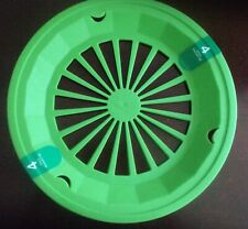 Plastic Paper Plate Holders Set of 4 Lime Green Camping , Bbq's, Picnics