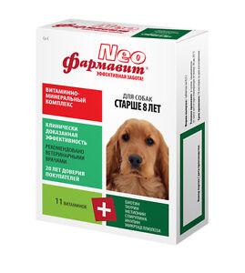 MultiVitamin mineral for aged dogs, senior Farmavit Neo 90 tab A B D3 E taurin