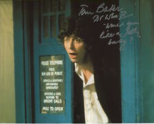 Tom Baker Photo Signed In Person With Quote - Doctor Who - D736