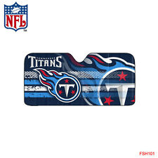 New NFL Tennessee Titans Car Truck Windshield Folding Sun Shade Large Size
