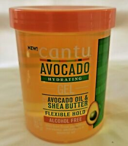 Cantu Avocado hydrating Gel 18.5oz - Australia Stock