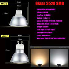 Led Spotlight E27 GU10 MR16 3528 5733 Warm/Cool White Bulb  Light lamp 220V110V