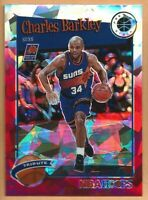 2019-20 NBA Hoops Premium Stock Sir Charles Barkley Red Cracked Ice Tribute #281