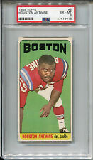 1965 Topps #2 Houston Antwine PSA 6 EX-MT Boston Patriots