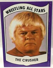 1982 Wrestling All Stars THE CRUSHER Rookie REGINALD LISOWSKI Green Bay Packers