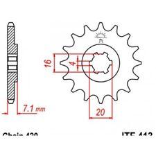Pignon acier 12 dents jt chaîne 420 suzuki rmx 50 Jt sprockets JTF413.12