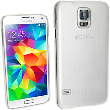 Clear PC Hard Case Cover Shell for Samsung Galaxy S5 SV SM-G900 + Screen Prot
