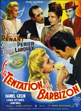 La tentation de Barbizon Daniel Gelin movie poster print