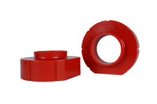 """Jeep XJ ZJ TJ 1"""" RED Polyurethane Coil Spring Spacers Perfect Budget Boost Lift"""