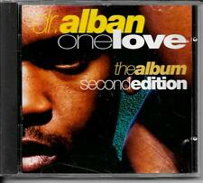 CD ALBUM 12 TITRES--DR.ALBAN--ONE LOVE THE ALBUM SECOND EDITION--1993