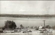 Portage ME Lake View 1950s-60s Real Photo Postcard