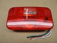 RV/Trailer Bargman Round Corner Complete Tail Light