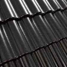 Dachziegel Dachsteine Beton  *Doppel S* SCHWARZ GLANZ  30 Jahre Garantie 1.Sorte