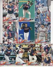2018 TOPPS Series 2 CLEVELAND INDIANS team set (10 cards) KLUBER, ZIMMER