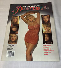 """Vintage 1993 Playboy's ANNA NICOLE SMITH """"PLAYMATE REVIEW"""" Rare Find!"""