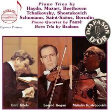 Mstislav Rostropovich - Plays Piano Trios [New CD] Boxed Set