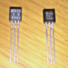 2N4401 NPN Transistor - 10 pcs, 2N4403 PNP Transistor - 10 pcs