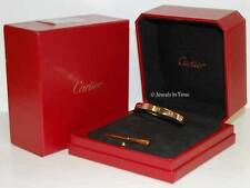 Cartier Love Bracelet 16 18k Rose Gold Box/Certificate/Screwdriver NEW B6035616