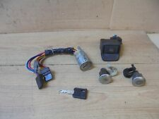 PEUGEOT 306 1995 HATCH IGNITION SWITCH BARREL,DOOR AND TAILGATE LOCKS WITH 1 KEY