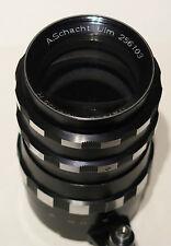 Rare A.Schacht Ulm 135/ 1:3.5 Travenar R Lens fits Exakta/Exa Cameras