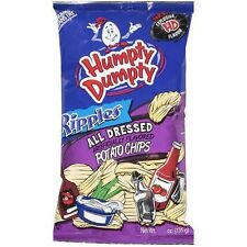 Humpty Dumpty Potato Chips - All Dressed - 7oz Bag - Pack of 6 - Free Shipping