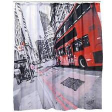Duschvorhang »London« Kunststoff Vorhang Dusche 180 x 180 cm
