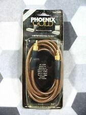 High Quality Vintage Phoenix Gold RCA Composite Video Cable 6 ft. VC-322R NOS