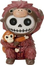NEW Furrybones Furry Bones Utan Orangutan Skull Skeleton Figurine 9175