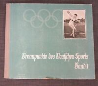 1934 German sports Cigarette Photo card Album Vol. 1 Between the Olympics