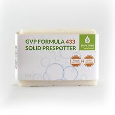 GVP Formula 433, Non Toxic, Solid Stick Prespotter 5 oz Bar, Works Like Magic!