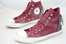Converse Chuck Taylor CT Tri Zip Hi Oxheart Womens Trainers Shoes Size UK 7 (MDY