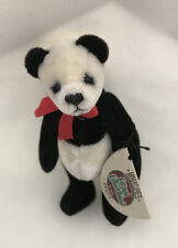 """COTTAGE COLLECTIBLES Miniatures By Ganz """"Panda"""" Vintage New"""