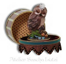 Katherine´s Collection Box Owl Handmade Gift Box Box USA NEW