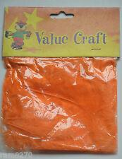 ORANGE CRAFT FEATHERS (7-10gram packets)  BNIP NEW