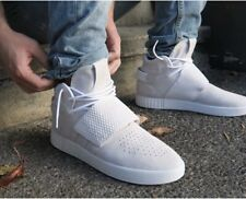 Adidas Men's Tubular Invader Strap BB5038 Vintage White 3 STRIPES Size UK 11.5