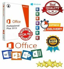 Microsoft Office 2019 Professional Plus Key 32/64bit INSTANT DELIVERY