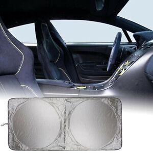 Foldabl Car Windshield Sun Shade Blocks Rays Protector Sunshade Windshield Cover