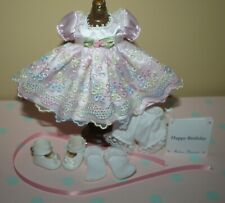 "New Listing8"" Madame Alexander Pink Outfit tagged Happy Birthday"