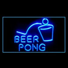 170099 Beer Pong Bar Pub Club Game Table College Display Led Light Sign