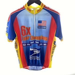 POSTAL SERVICE Tour Champions L Cycling Jersey Multicolor Official Limited Ed