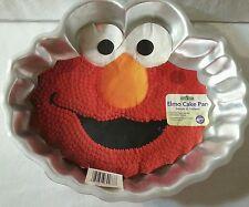 WILTON Sesame Street ELMO CAKE PAN 2105-3461 Elmo Aluminum Baking