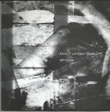 BORN UNDER SATURN/SHORA SPLIT EP 1999 METAL HARDCORE ON GREY VINYL
