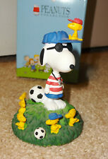 0f7f9d14335 Westland Giftware Peanuts Lets Play Soccer Snoopy   Woodstock Figure  8347