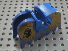LEGO chateau castle minifig horse barding ref 2490px9 / 8781 Castle of Morcia